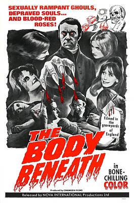 The Body Beneath, Center Top Gavin Reed Art Print