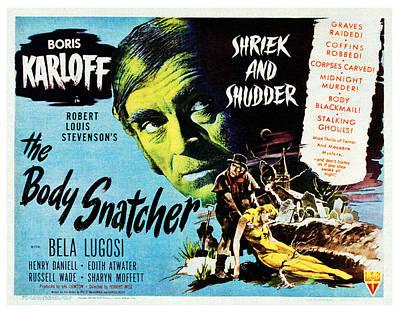 The Body Snatcher, Boris Karloff, 1945 Art Print