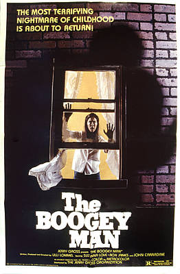 Postv Photograph - The Boogeyman, 1980 by Everett