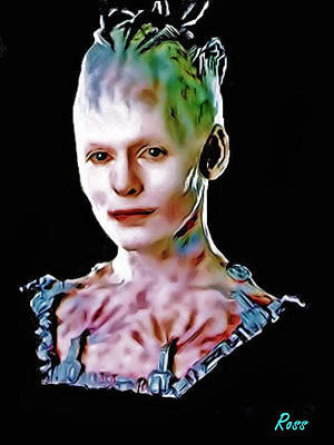 Borg Digital Art - The Borg Queen Mother-in-law by Jim Ross