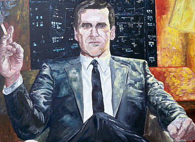 Painting - The Boss by Andrew Hench