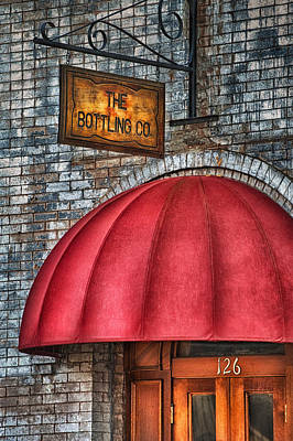 The Bottling Co. Art Print by Brenda Bryant