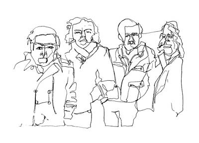 Boxer Rebellion Drawing - The Boxer Rebellion by Rob Loflin