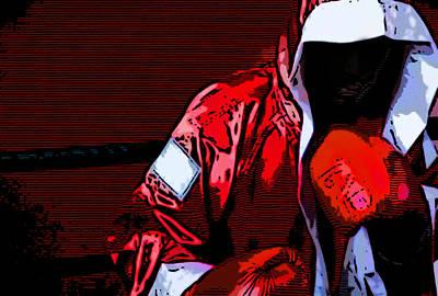 The Boxer Art Print by Rpics Rpics