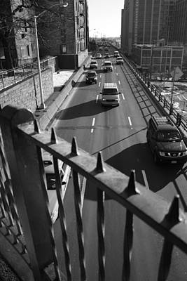 Photograph - The Bqe From The Promenade by Christopher Kirby