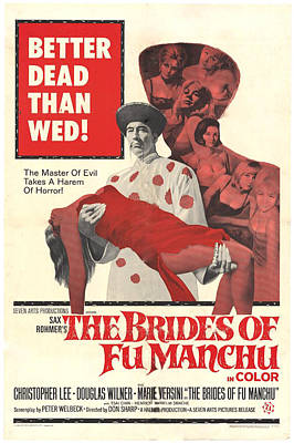 The Brides Of Fu Manchu, Christopher Art Print by Everett