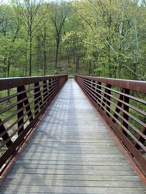 The Bridge That Divides Art Print