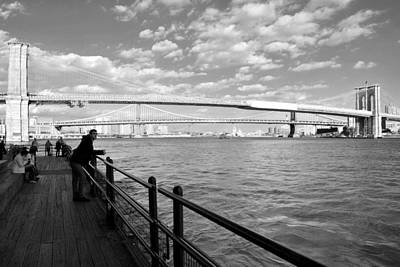 Photograph - The Bridges Of Ny by Laura DAddona