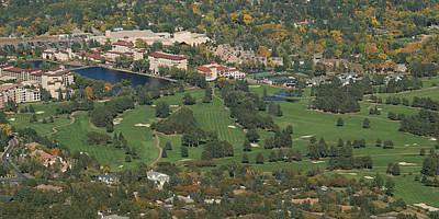 Broadmoor Photograph - The Broadmoor by Ernie Echols