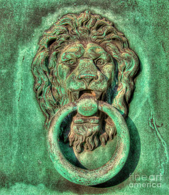 Photograph - The Bronze Gatekeeper by Lee Dos Santos
