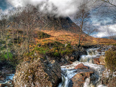 Stob Dearg Photograph - The Buachaille Etive Mor Scotland by Amanda Finan