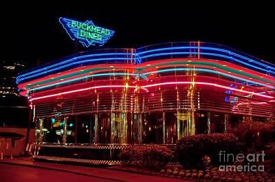 Corky Willis And Associates Atlanta Photograph - The Buckhead Diner Atlanta by Corky Willis Atlanta Photography