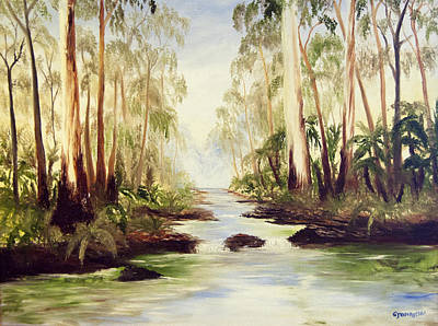 The Buckland River Art Print