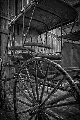 Photograph - The Buggy Barn by James Woody