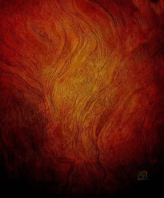 Digital Art - The Burning Bush by Jean Moore