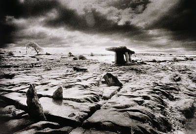 Sombre Photograph - The Burren by Simon Marsden