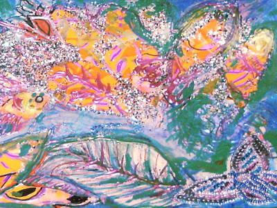 The Butterfly's Dream Print by Anne-Elizabeth Whiteway