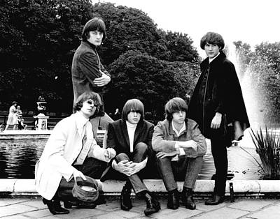 Hillman Photograph - The Byrds 1965 by Chris Walter