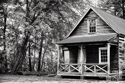Pine Barrens Photograph - The Cabin by John Rizzuto