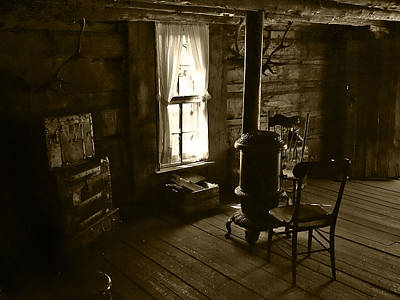 Photograph - The Cabin Room by Ken Smith