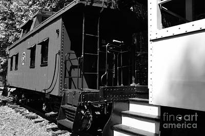 Caboose Photograph - The Caboose by Thomas R Fletcher