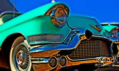 Priska Wettstein Land Shapes Series - The Cadillac 3 by Perry Webster