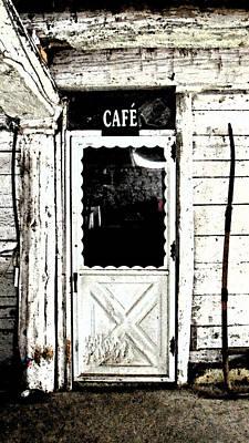 Photograph - The Cafe by Cyryn Fyrcyd