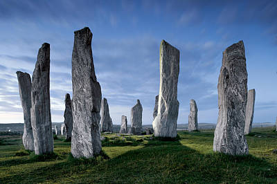 Megalith Photograph - The Callanish Standing Stones, Cut by Jim Richardson