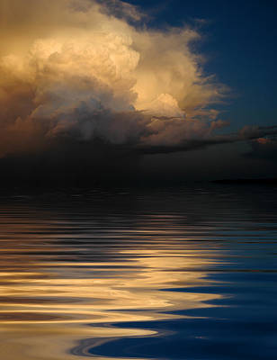 Clouds Photograph - The Calm Before The Storm by Jerry McElroy