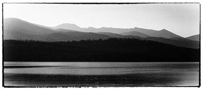 Seascape Photograph - The Calm Waters Of Priest Lake Idaho by David Patterson