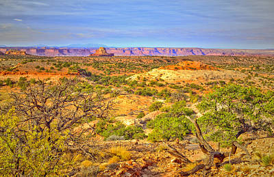 Lamdscape Photograph - The Canyon In The Distance by Tara Turner