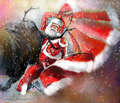 Santa Claus Mixed Media - The Cape Of Good Hope by Miki De Goodaboom