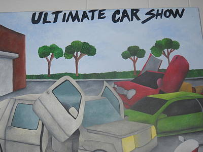 Painting - The Car Show by Brandon Crawford