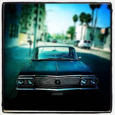 Hollywood Wall Art - Photograph - The Car by Torgeir Ensrud