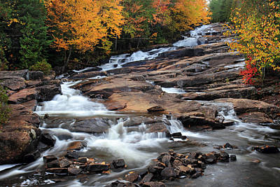 Photograph - The Cascades Mauricie National Park by Pierre Leclerc Photography