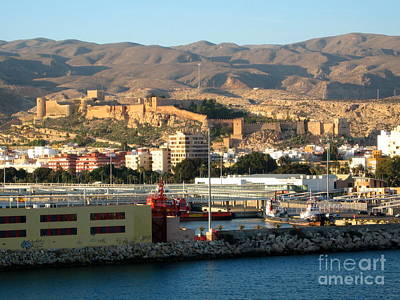 Photograph - The Castle In Almeria Spain by Phyllis Kaltenbach