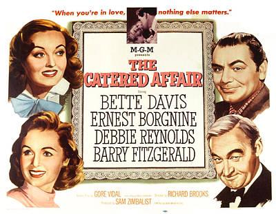 The Catered Affair, Top Bette Davis Art Print by Everett