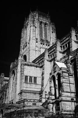 the Cathedral Church of Christ Liverpool Anglican Cathedral Merseyside England UK Art Print by Joe Fox