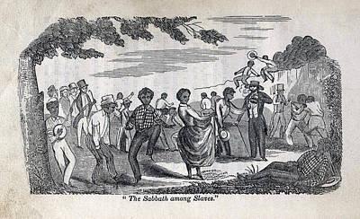 The Celebration Of The Sabbath Among Art Print by Everett