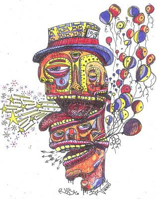 The Celebration Art Print by Robert Wolverton Jr