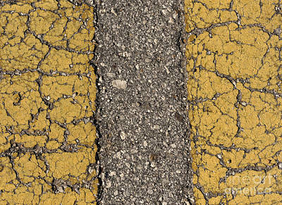 Photograph - The Center Lines by Nancy Greenland