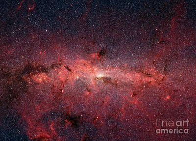 Photograph - The Center Of The Milky Way Galaxy by Stocktrek Images