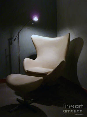 Mixed Media - The Chair by Jerry L Barrett