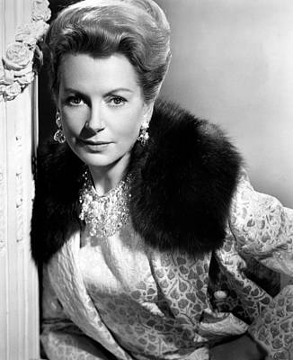Colbw Photograph - The Chalk Garden, Deborah Kerr, 1964 by Everett
