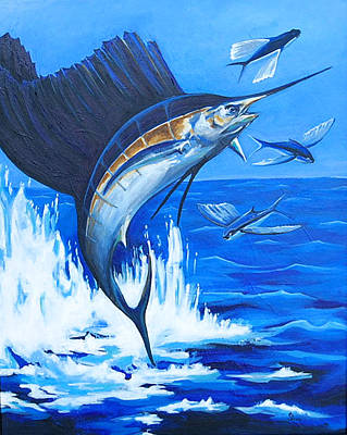 Painting - The Chase by Sandra Camper