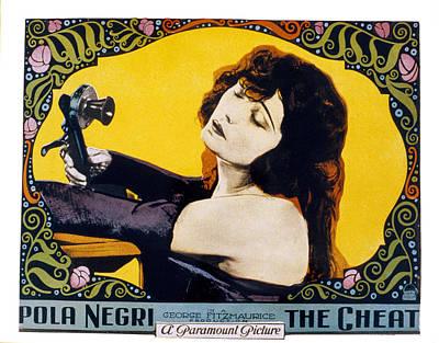 Pola Negri Photograph - The Cheat, Pola Negri, 1923 by Everett