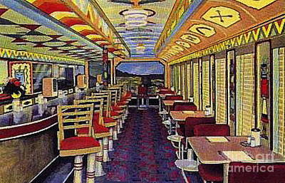 Painting - The Chief Diner And Cafe In Durango Co by Dwight Goss
