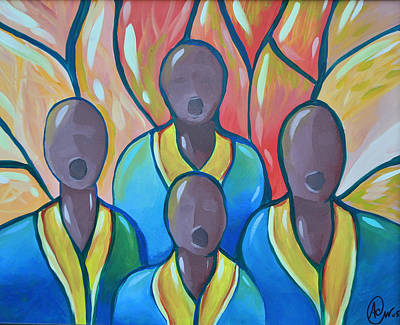 Painting - The Choir by AC Williams