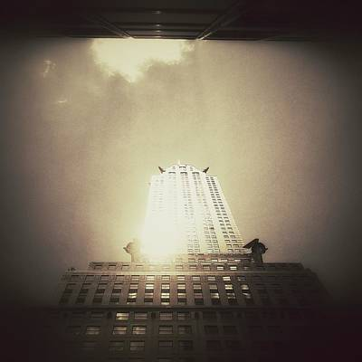 Light Photograph - The Chrysler Building - New York City by Vivienne Gucwa