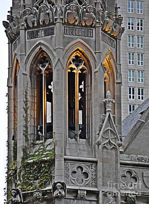 The Church Digital Art - The Church Tower by Mary Machare